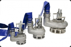 DEKA hydraulic  Submersible pumps